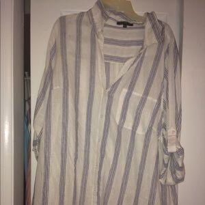 Tops - Oversized Linen Shirt